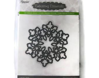 Snowflake Die , Darice Embossing Essentials Large Snowflake Metal Die