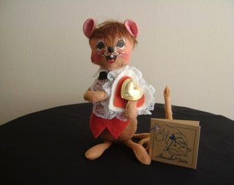Vintage Annalee Mouse Boy Doll 1994