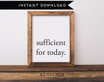 Digital Download, Grace is sufficient, Scripture Printable, Dorm Wall Art, Bible Verse Wall Art, Christian Printable, Dorm Decor, Scripture