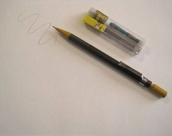 Pentel Sharplet-2 Mechanical Pencil with extra leads and erasers - Working - 0.9mm