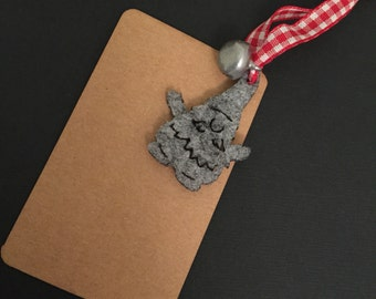 tags, set with 3 pieces, gift Tag Christmas, Christmas gnomes