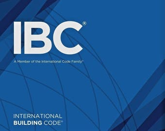2018 International Building Code (IBC) Full PDF Version on CD