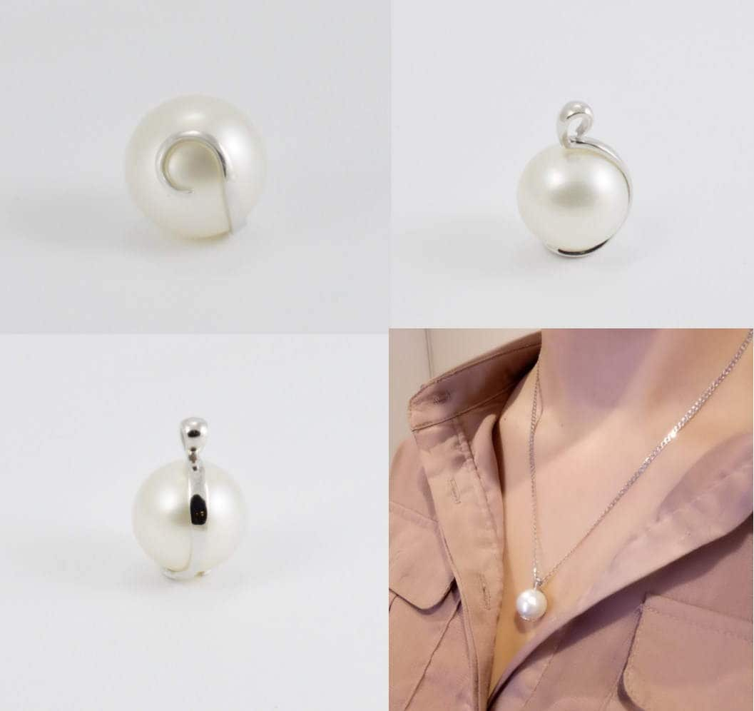 South sea large pearl pendant it is a 15mm natural colour real gallery photo gallery photo gallery photo gallery photo gallery photo mozeypictures Images