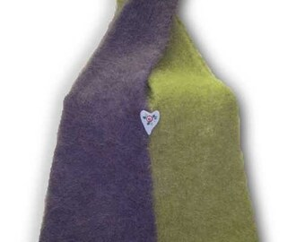 Kati Cross-over Hand Knit Felted Bag Pattern PDF