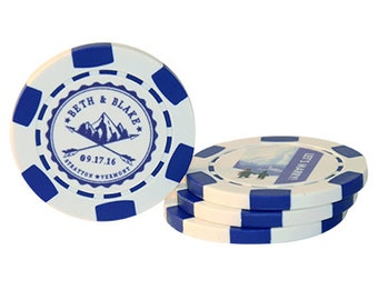 Wedding Custom Poker Chips