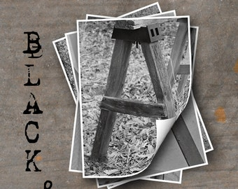 Alphabet Photo Letter Art, Letter A Choices, Alphabet Photography Prints, Black and White