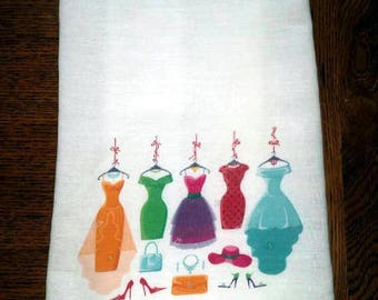 Flour Sack Kitchen Towel Clothing Shopper