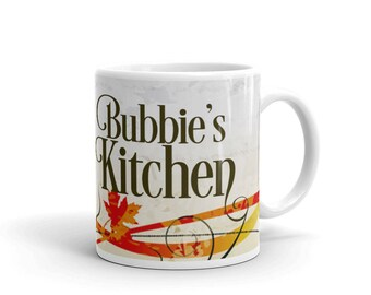 Bubbies Kitchen, Jewish Grandmother Gift, Yiddish, Grandma Present, Bubbe, Savta