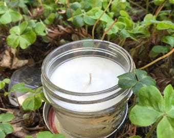 White Soy Wax Candle