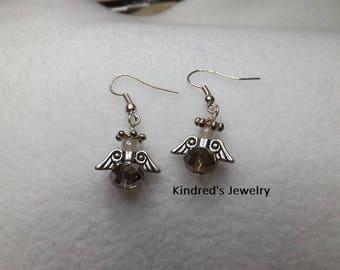 Cherub Angel Earrings