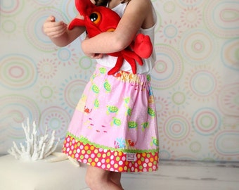 Down By the Seashore  skirt  (18 mos, 2T, 3T, 4T, 5, 6, 7, 8, 10)