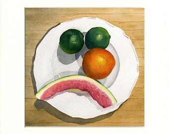 Sad Fruit 6 (Painting)