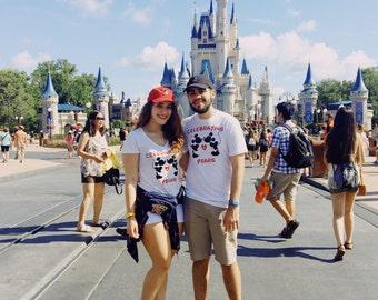 Disney Couple Shirts | Disney Anniversary | Womens Disney Shirt | Disney Matching Shirts | Wife Disney Shirt | Disney Wedding Shirt | Wife