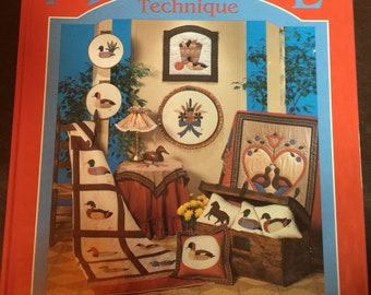 Vintage 1985 Award Winning Applique Technique Book by Wilma Carolyn Johnson