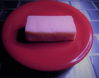 white chocolate raspberry fudge loaves