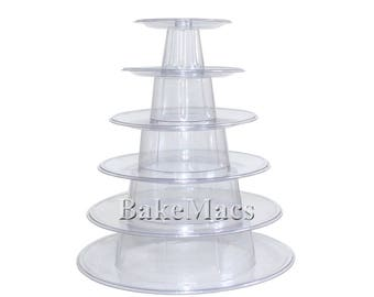 6 Tier Macaron Tower or Display Stand for French Macarons