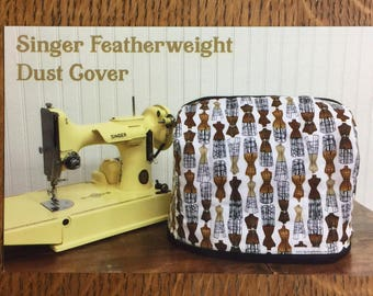 Pattern for a Singer Featherweight Dust Cover