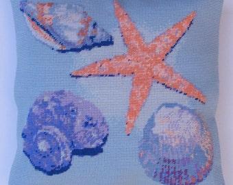 Shells tapestry kit / needlepoint kit