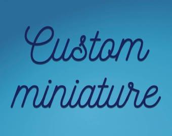Custom amigurumi