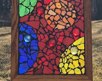 Stained Glass - Circles I