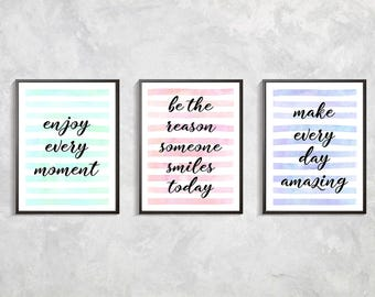 Motivation Quotes Prints, Positive Quotes Posters, Motivation Letters Print, Inspirational Quotes, Inspirational Art, Digital download art