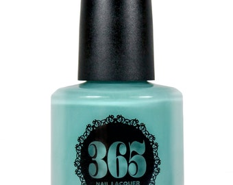 Light Turquoise Blue Creme Nail Polish - Alimersai