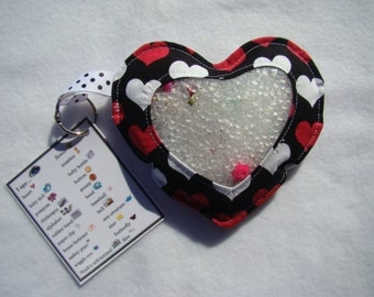 black Heart  I Spy bag