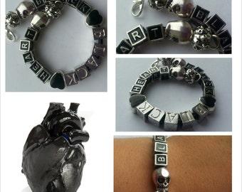 Black BLACK heart...