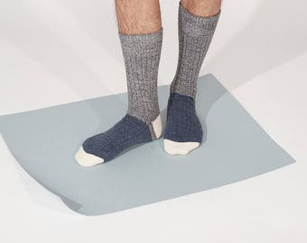 Dekker Cozy Winter Socks in Grey for Men and Women