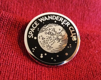 Space Wanderer Club Enamel Pin