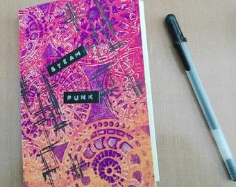 Notebook colorbook diary art journal bullet journal - Steampunk