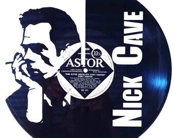 Nick Cave - Vinyl Record Art