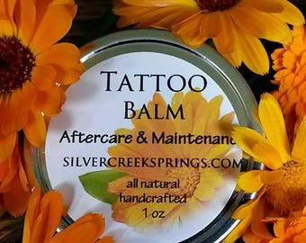 Tattoo Aftercare & Maintenance