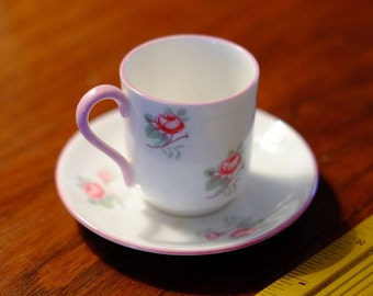 SHELLEY Miniature Cup and Saucer