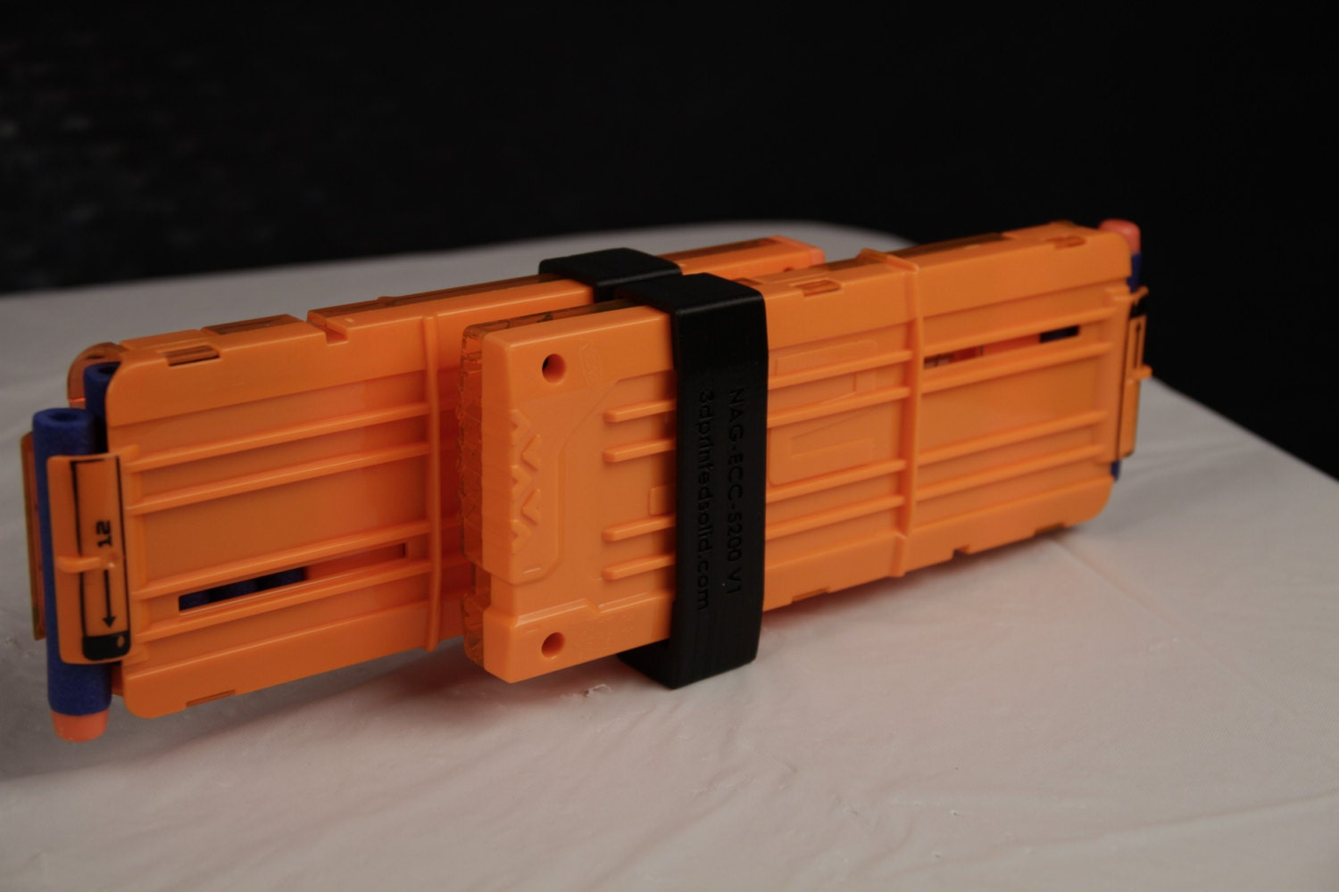 Image of 3D Printed Nerf Gun Parts, Mods & Attachments: Clip Coupler