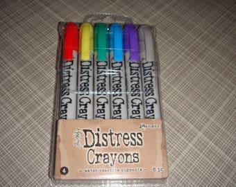 Tim Holtz Distress Crayon Set #4