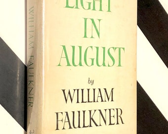 Light in August by William Faulkner (1959) Modern Library hardcover book