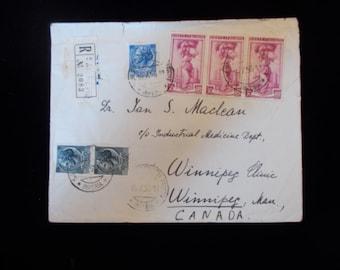 Envelope 1956