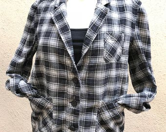 Adorable rustic little plaid jacket