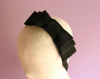 Tripled Ribbon Headband