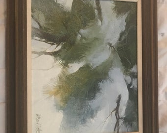 Signed painting, painted on canvas, artist is Al Brouillette, not sure of when it was painted