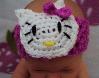"""made to order"" baby headband"
