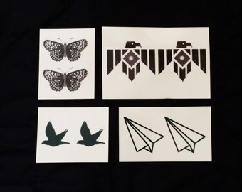 Things with Wings Collection - Spirit Ink Temporary Tattoo