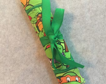 Ninja Turtle pencil roll
