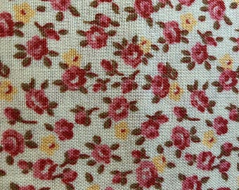 Tiny Floral Roses Fabric