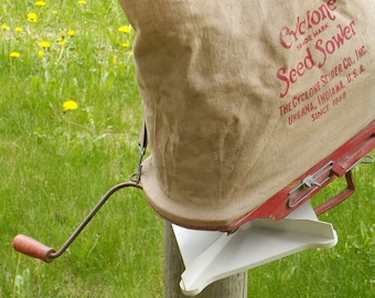 Cyclone Seed Sower Garden Planting Tool