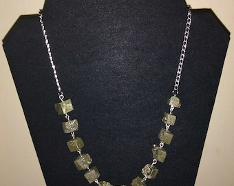 Pyrite Nuggets Necklace