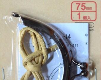 1pcs 75 mm Metal Frame for Purse Making