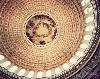 US Capitol Dome - Washington DC art, fine art photo, architecture, wall art, DC artwork, photograph, home decor