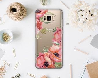 Floral Samsung S9 Case Samsung Galaxy S8 Plus Case Samsung S7 Case Samsung Galaxy S7 Edge Case Galaxy S8 Case Samsung S6 Edge Case WA1204